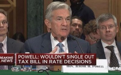 #1 Reason We Sat Behind new Fed Chair Powell at U.S. Senate Testimony